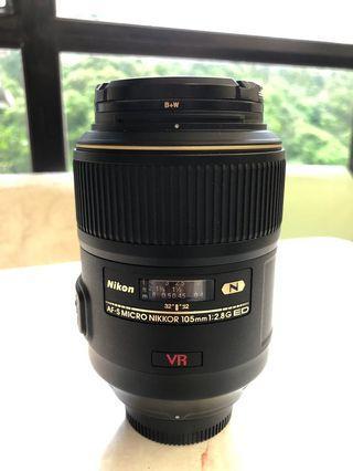 Nikon MIJ 105mm f2.8 micro 90%new