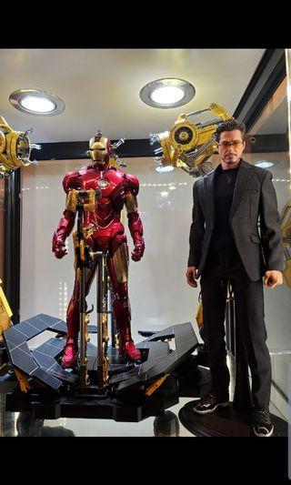 自組 Tony Stark ironman 1/6 西裝 非hottoys shf
