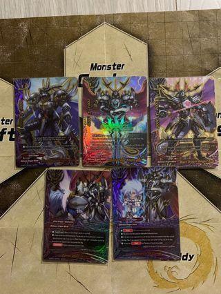 WTS Curse Dragon Cards