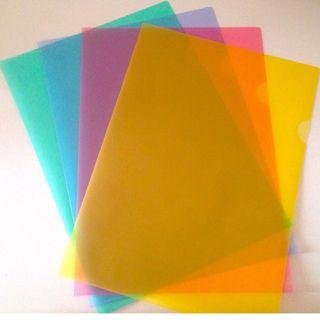 Multicolor mix color transparent files