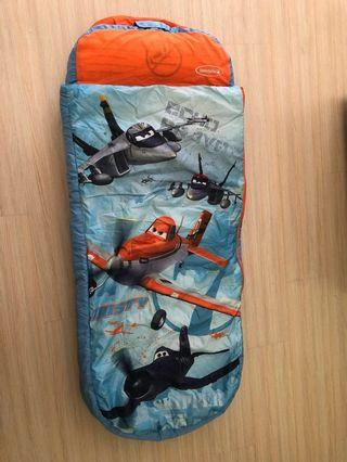 Ready Bed Disney Planes Sleeping Bag Inflatable Bed