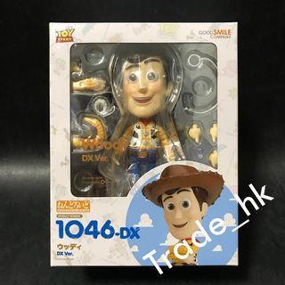 19年7月新貨!全新未開封 日版 No.1046-DX 黏土人 Goodsmile Nendoroid 胡迪 Woody 反斗奇兵 Toy Story 迪士尼 Disney