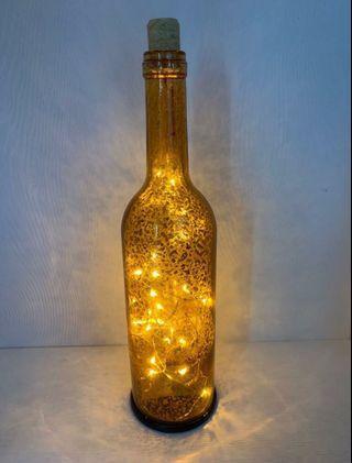 發光瓶裝飾