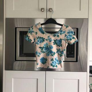american apparel rose top