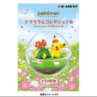 Pokemon Terrarium Collection 6 比卡超 美麗花 生態球