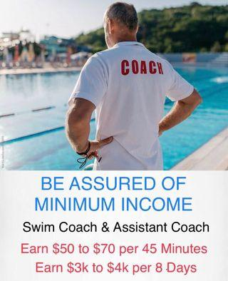 Child Swim Coach or Assistant Coach as a Career