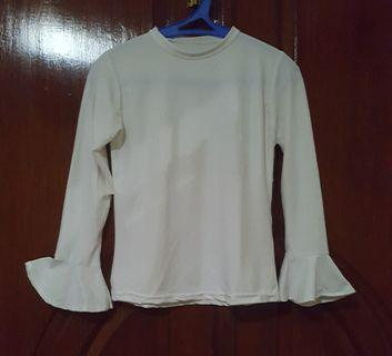 T shirt legan panjang cutbray