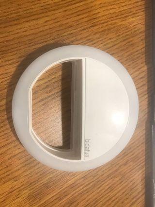 LED photo selfie ring light
