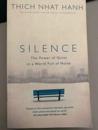 Silence by Thich Nhat Hanh - free delivery