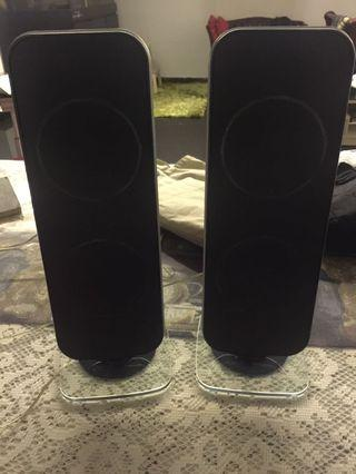 🚚 Philips speaker with glass base