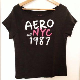 Aeropostale Women's Graphic Knit Top