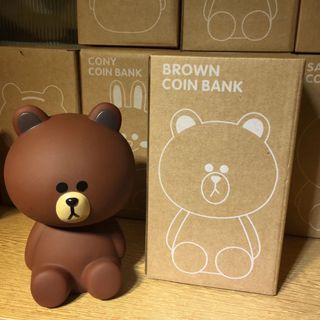 Line Friends Coin Bank
