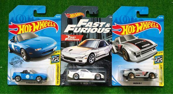 Hotwheels Mazda RX7