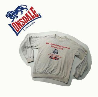 Sweater Lonsdale #PRELOVEDWITHLOVE