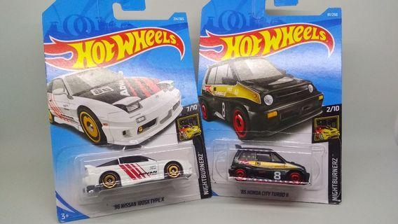 Hot Wheels koleksi isi dua