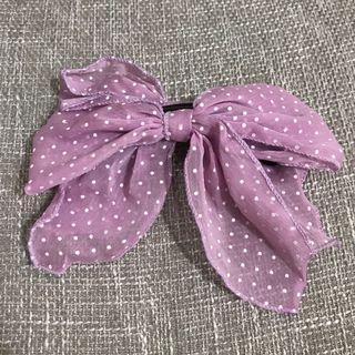 蝴蝶結髮夾