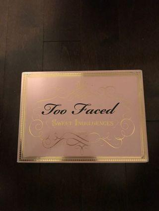 Too faced sweet indulgence palette