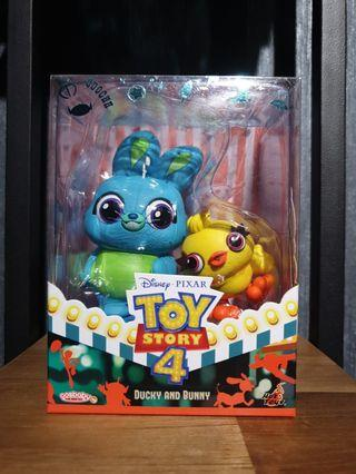 Hot Toys Toy Story 4 Ducky and Bunny Cosbaby MISB