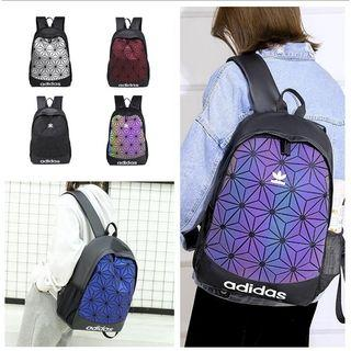 2019 Ad1das Backpack Iseey Miyake Laptop Travel Outdoor Bags School Student Bag