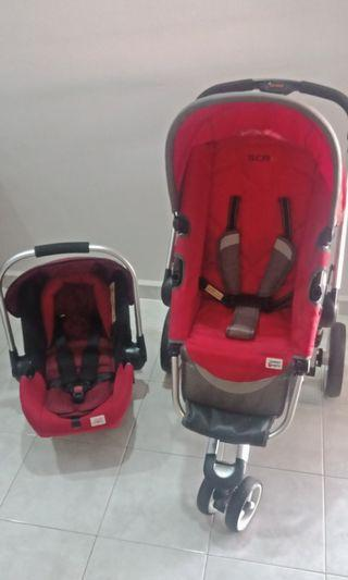 Stroller and carseat (combo)