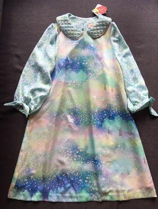 ❤️一口價$690 Franche Lippee 全新 日本製 夢幻森林綿羊連身裙