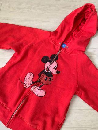 Brand New Mickey Mouse Ears Hoodie Jacket from Disneysea