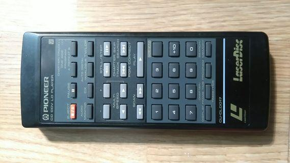 Pioneer LD / CD player remote controller