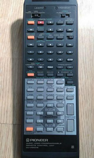 Pioneer AV amplifier learning remote controller