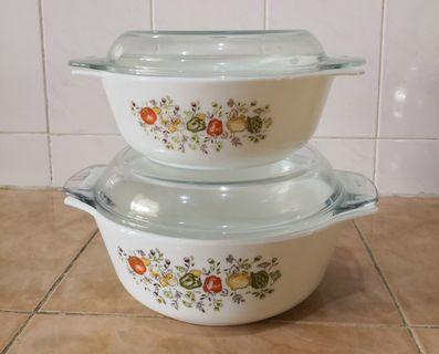 Pyrex spice of life casserole bowl 2