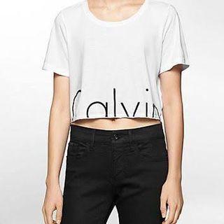 Calvin Klein Jeans Crop Tee