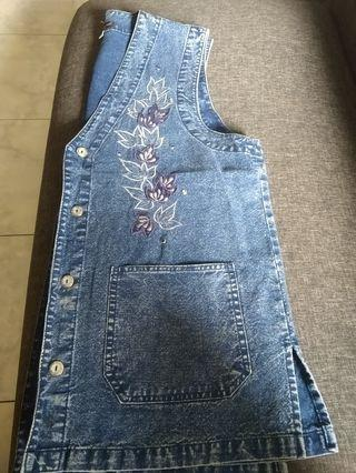 Baju denim buntung
