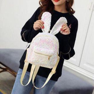 Bunny Bling Mini Backpack