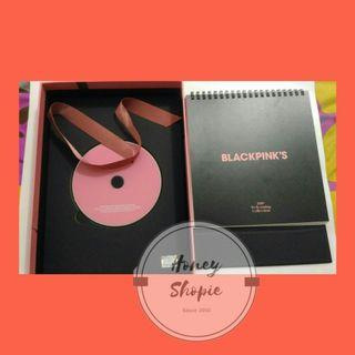 Blackpink sharing wellcoming collectiob