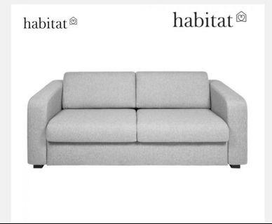 Habitat 3 seater sofa bed