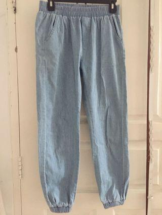 Jogger Pants - Light Blue