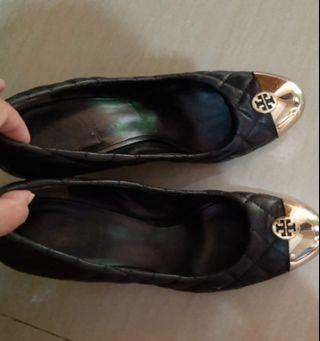 Tory burch wedges authentic