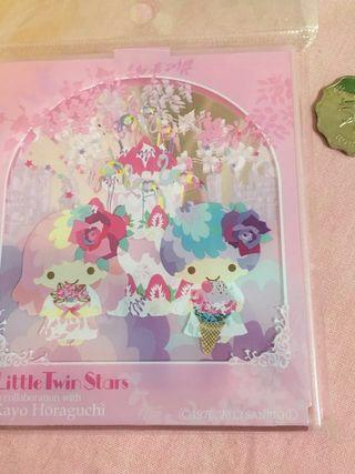 Little Twin Stars Kiki & Lala Mirror Sanrio License Made in Japan