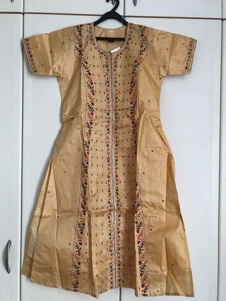 Silk Punjabi suit