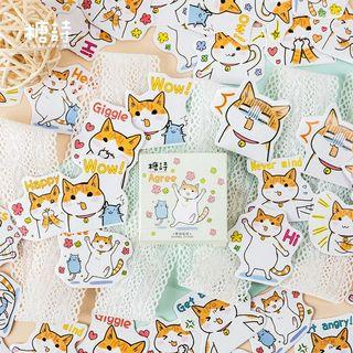 [ PO ] Cute Cat Sticker Flakes