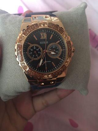 Guess Watch W1094L2 Blue Gold