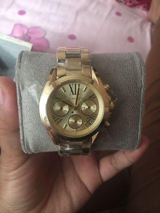 Michael Kors Watch Woman Gold
