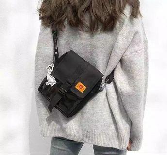 Sling Bag Tas Selempang Cowok Cewek Korea