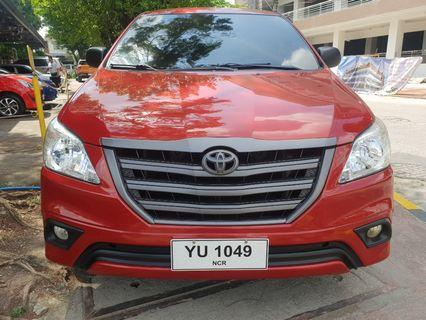 2016 Toyota Innova E AT