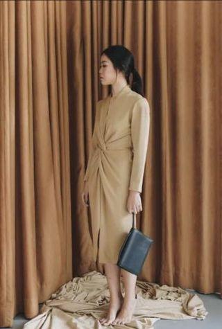 YourPafon - light brown dress