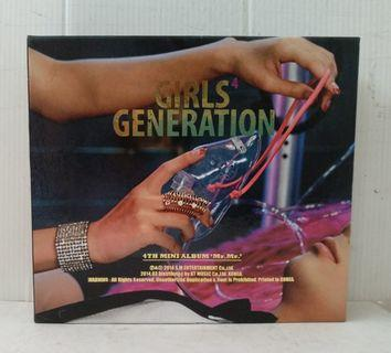 Girl's Generation 4th Mini Album Mr Mr (Korean Edition)