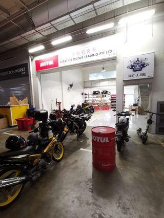 Sunday Bike Workshop till 5pm!