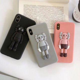 PO KAWS iPhone Oppo Vivo Huawei Case