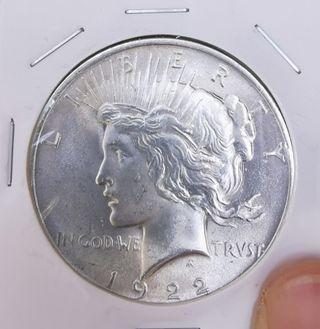 Uncirculated 1922 Silver Dollar