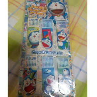 $10 DORAEMON 2006 BOOKMARK CLIP CALENDAR  cartoon anime clip