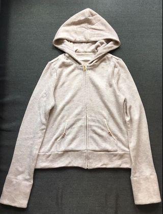 ❤️一口價$360 Franche Lippee 日本製 閃閃bb粉色 絨蝴蝶結袋邊 外套